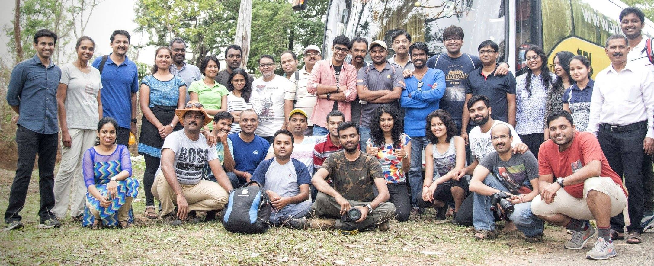 #Crazy42, Intel gang corporate team outing to Nagarhole National Park by Wilderhood